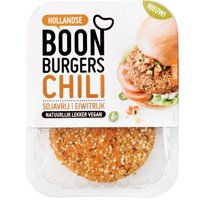 Boon tempeh of chili burgers