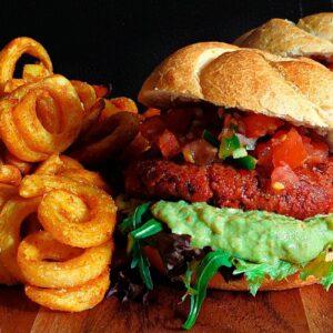 Mexicaanse vegan hamburgers (1)