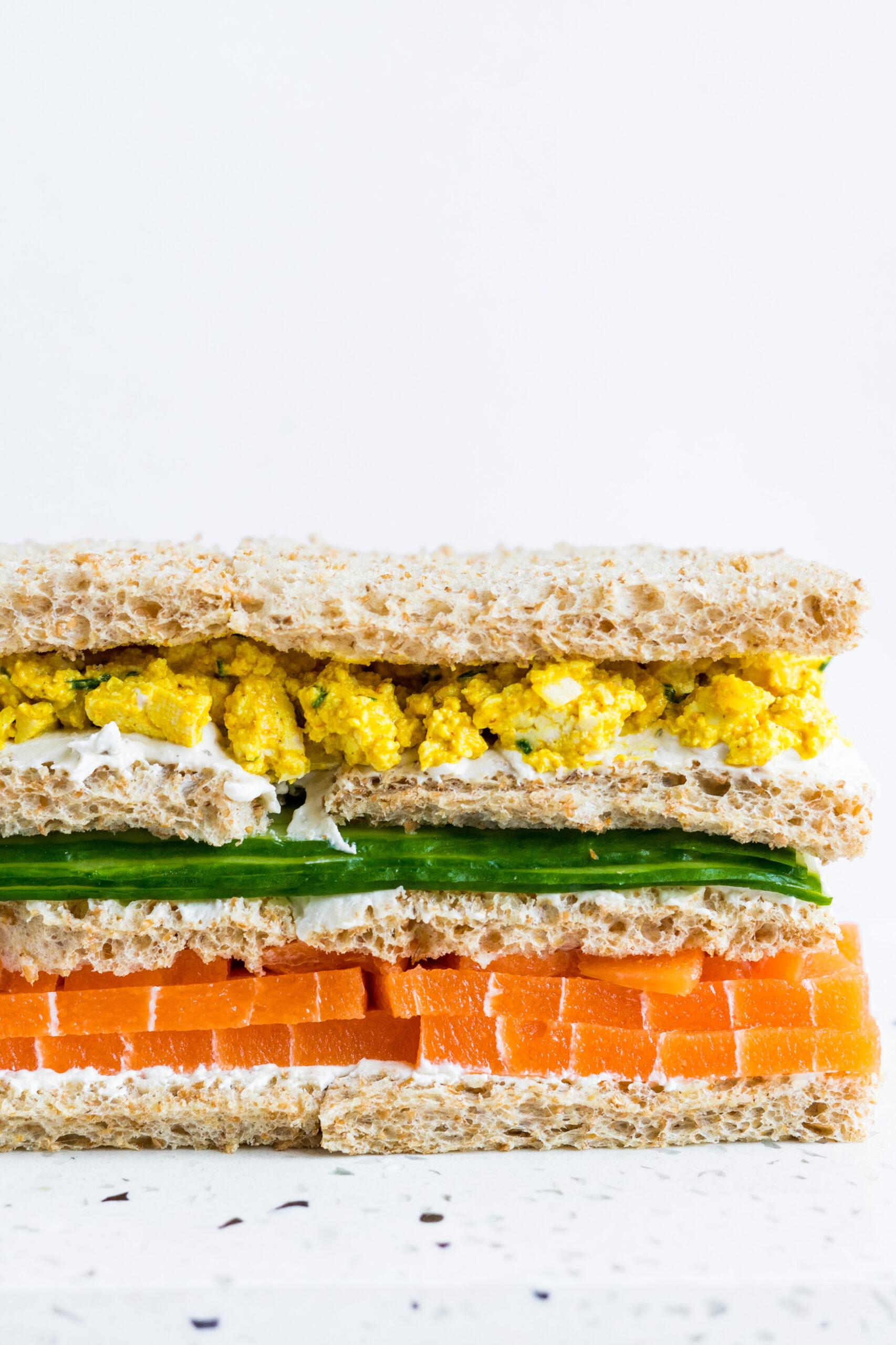Vegan Smörgåstårta