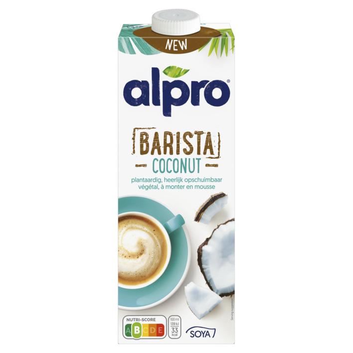 alpro barista coconut