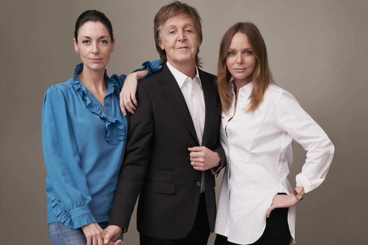 Mary, Paul and Stella McCartney. (Photo: © 2017 MPL Communications Ltd)
