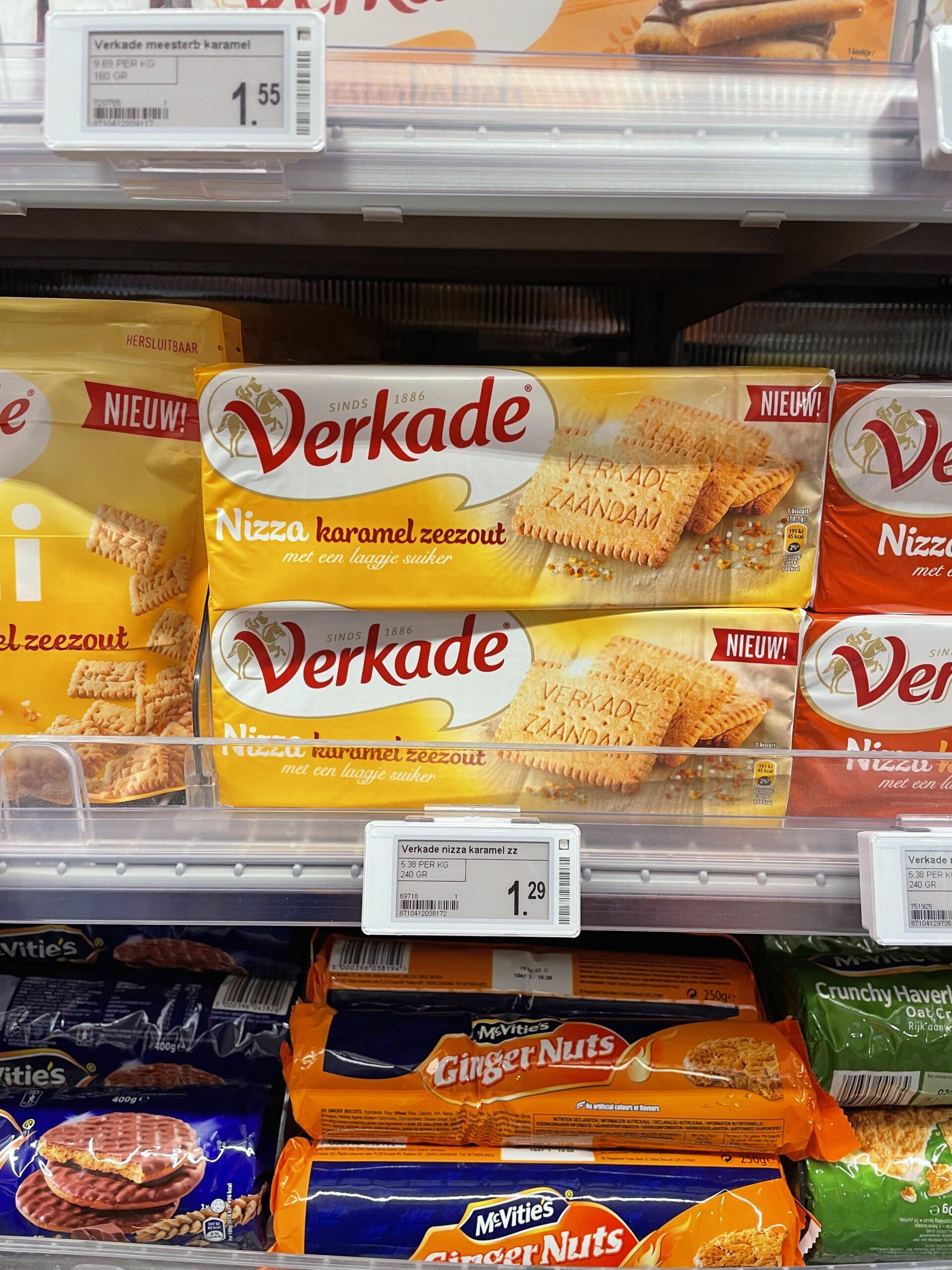 Verkade Nizza en McVitie's Gingernuts vegan koekjes