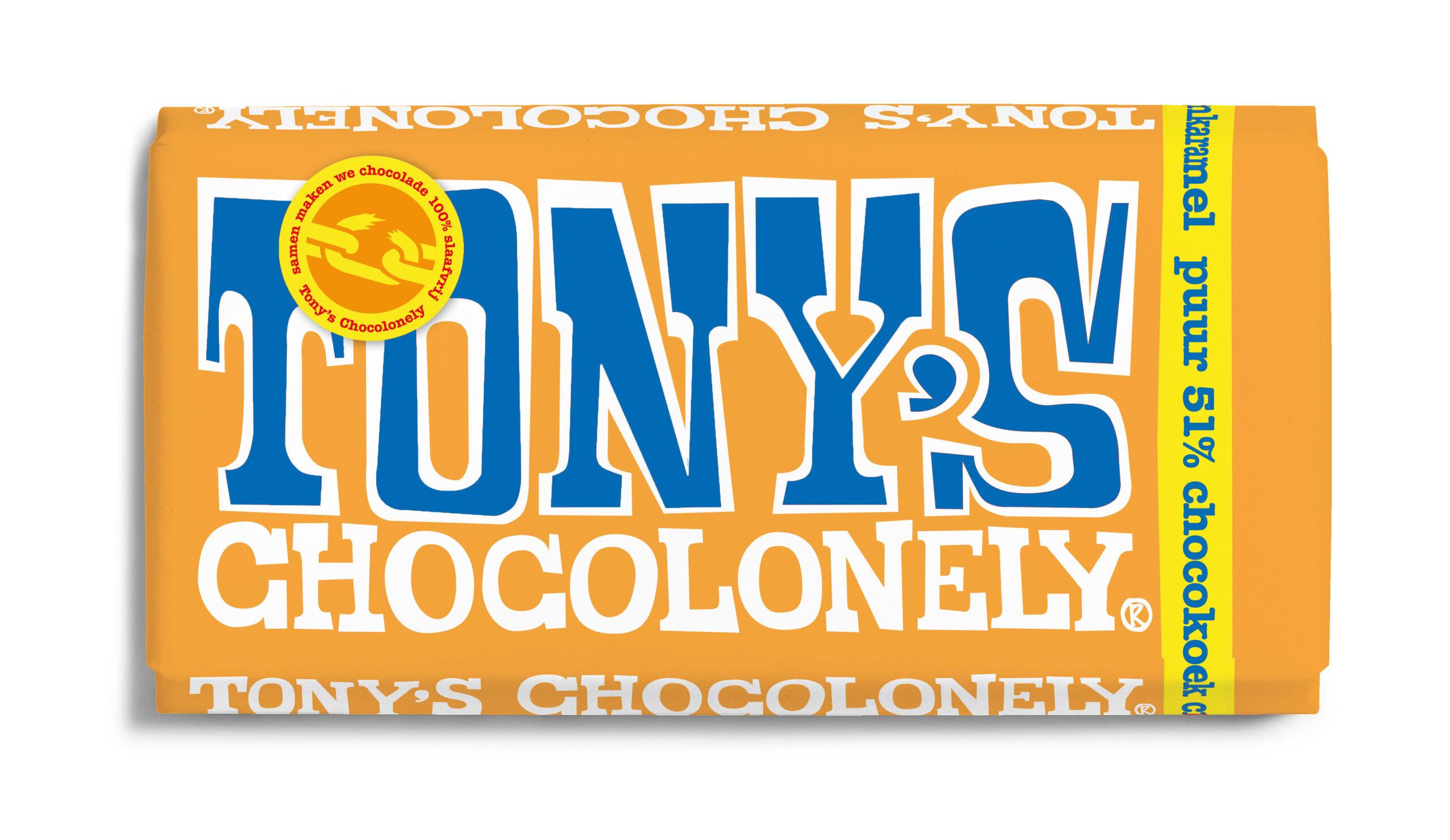 vegan tony's chocolonely puur chocokoek citroenkaramel