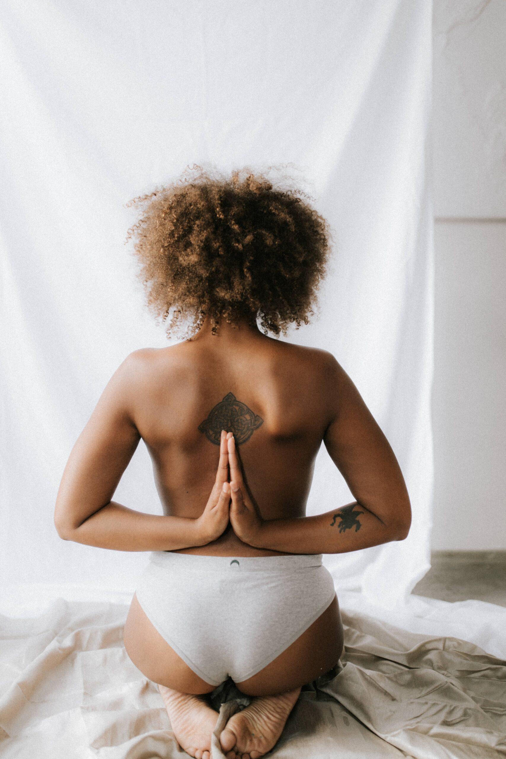 africa organics review yoga pose