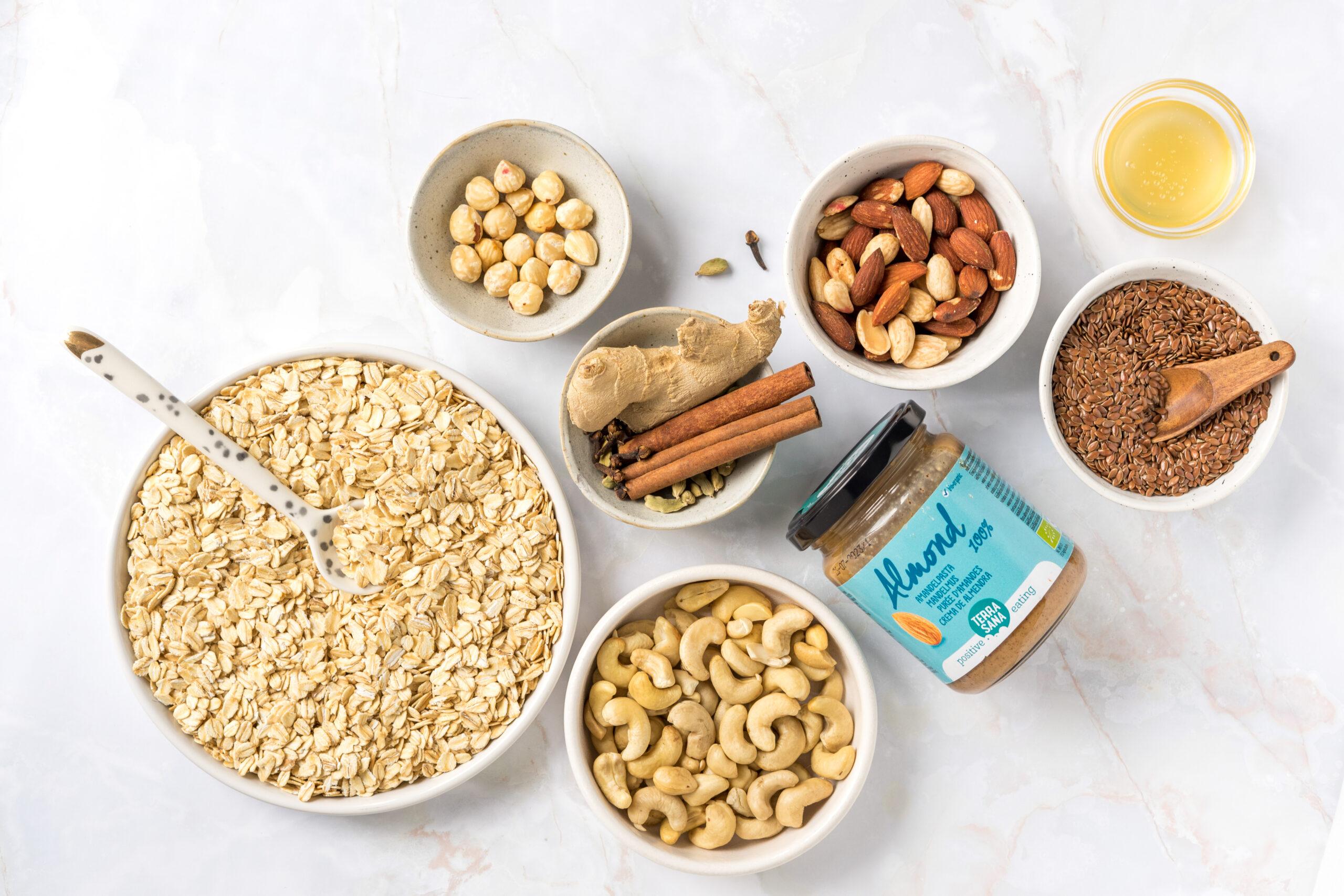 Chai granola ingredienten